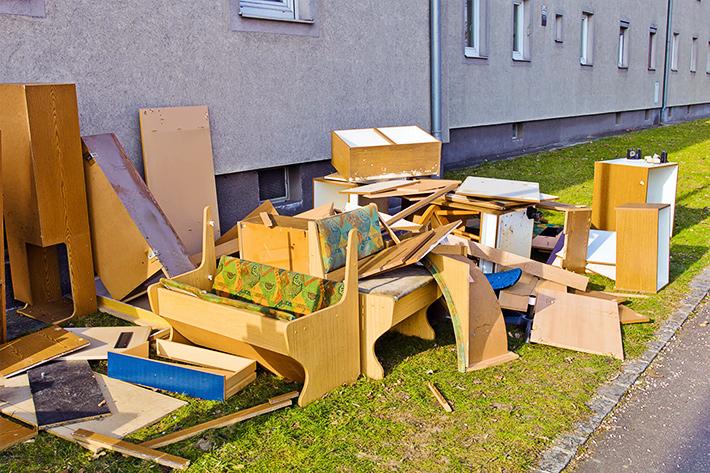 мусор после ремонта